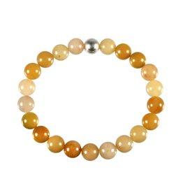 Aventurijn (geel) armband 20 cm | 8 mm kralen
