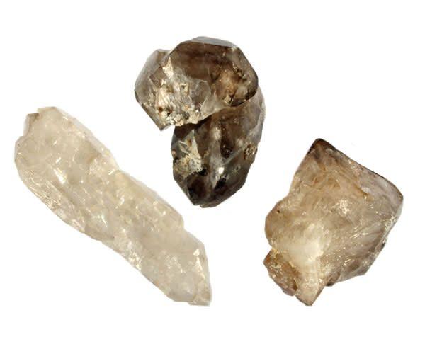 Rookkwarts alligator (elestiaal) kristal 25 - 50 gram