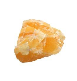 Calciet (oranje) ruw 100 - 175 gram