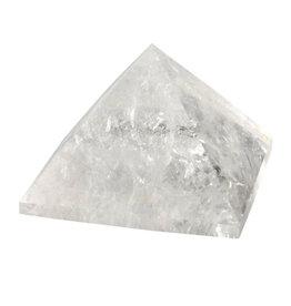 Bergkristal piramide 6,8 x 6,8 x 5 cm / 255 gram