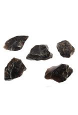 Rookkwarts (Morion) ruw 10 - 25 gram