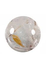 Rutielkwarts edelsteen bol 59 mm / 292 gram