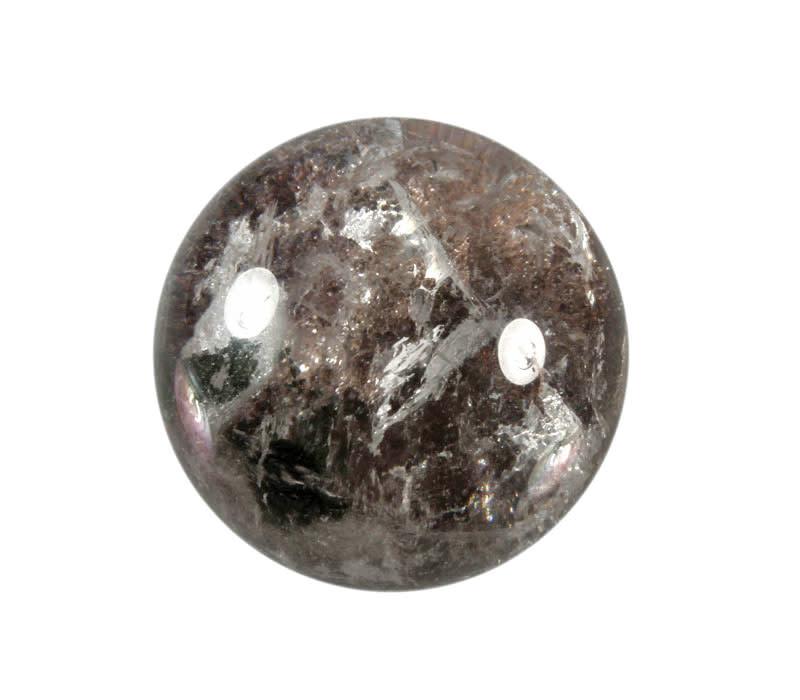 Sjamaankwarts edelsteen bol 52 mm / 188 gram