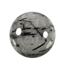 Toermalijnkwarts edelsteen bol 63 mm / 362 gram