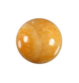 Calciet (licht oranje) edelsteen bol 40 mm