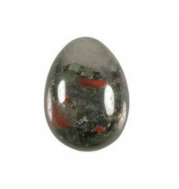 Jaspis (vulkaan) edelsteen ei 4,4 x 3,4 cm