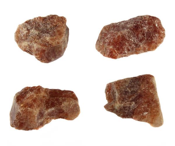Hessoniet (granaat) ruw 10 - 25 gram