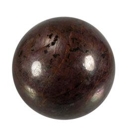 Robijn edelsteen bol 83 mm | 1142 gram