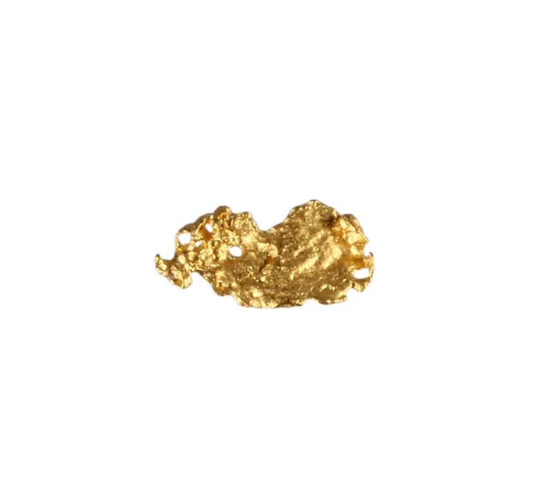Goud nugget 1,62 gram