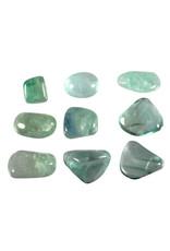 Fluoriet (groen) steen getrommeld 10 - 20 gram