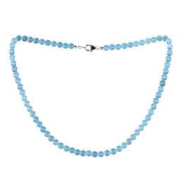 Calciet (blauw) A-kwaliteit ketting 6 mm kralen