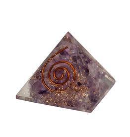 Orgone piramide amethist