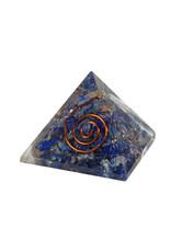 Orgone piramide lapis lazuli