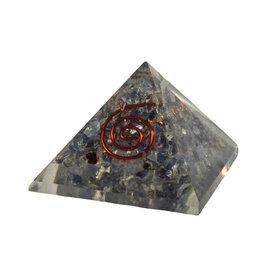Orgone piramide saffier