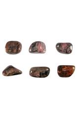 Pyroxmangiet steen getrommeld 10 - 15 gram