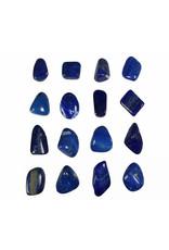 Lapis lazuli hanger doorboord