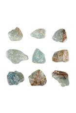 Aragoniet (blauw) ruw 5 - 15 gram