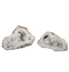 Bergkristal geode 19 x 17 x 14 cm / 3290 gram
