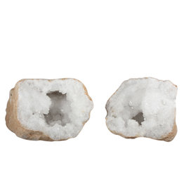 Bergkristal geode 18 x 17 x 14 cm / 5190 gram