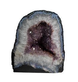 Amethist geode 24 x 20 x 27 cm / 17,22 kg