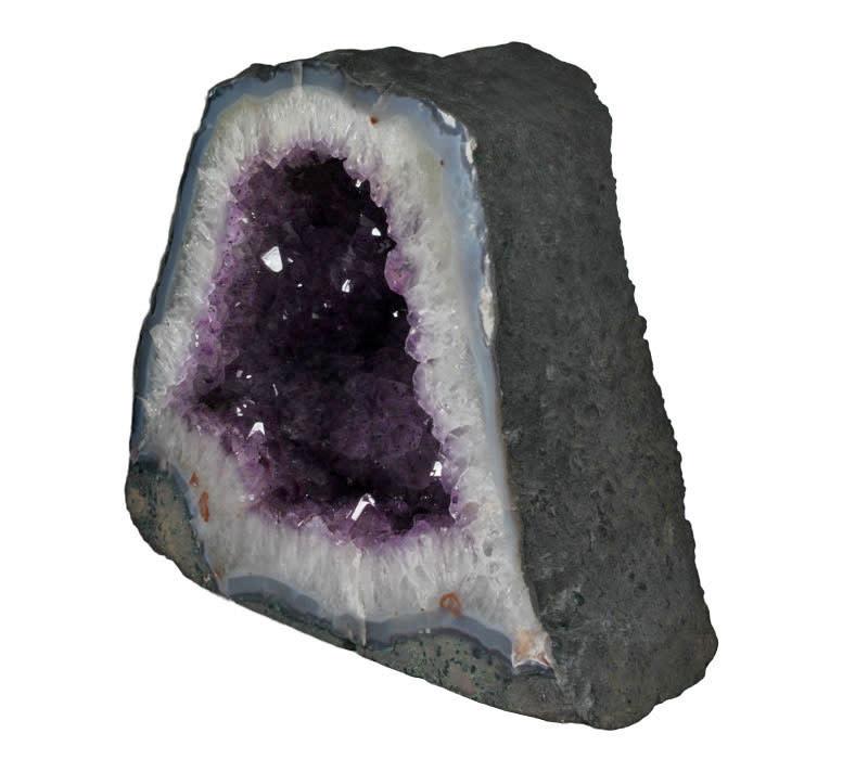 Amethist geode 33 x 17 x 27 cm / 17,59 kg
