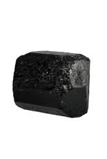 Toermalijn (zwart) kristal dubbeleinder 7,5 x 6 x 5,5 cm / 440 gram