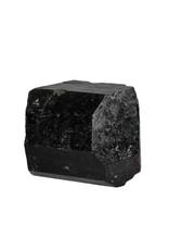 Toermalijn (zwart) kristal dubbeleinder 7,5 x 6,5 x 5,5 cm / 527 gram
