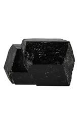 Toermalijn (zwart) kristal dubbeleinder 9,5 x 7 x 6,5 cm / 747 gram