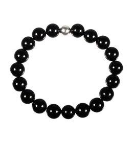 Onyx armband 20 cm | 10 mm kralen