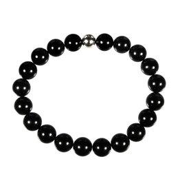 Toermalijn (zwart) armband 20 cm | 10 mm kralen