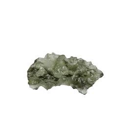 Moldaviet (Besednice) ruw 2,7 x 1,3 x 0,9 cm / 2,28 gram