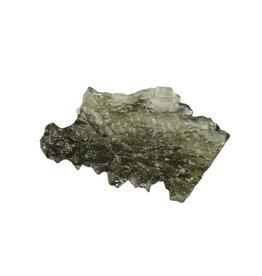 Moldaviet (Besednice) ruw 3,2 x 2 x 0,8 cm / 3,66 gram