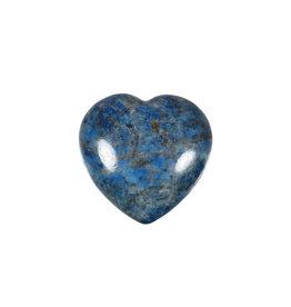 Lapis lazuli edelsteen hart 3 cm