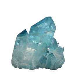 Aqua aura kwarts cluster 5 x 4,8 x 4,8 cm / 110 gram