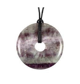 Fluoriet (multi) hanger donut 4 cm