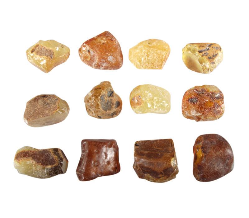 Barnsteen (Baltisch) ruw 5 - 10 gram