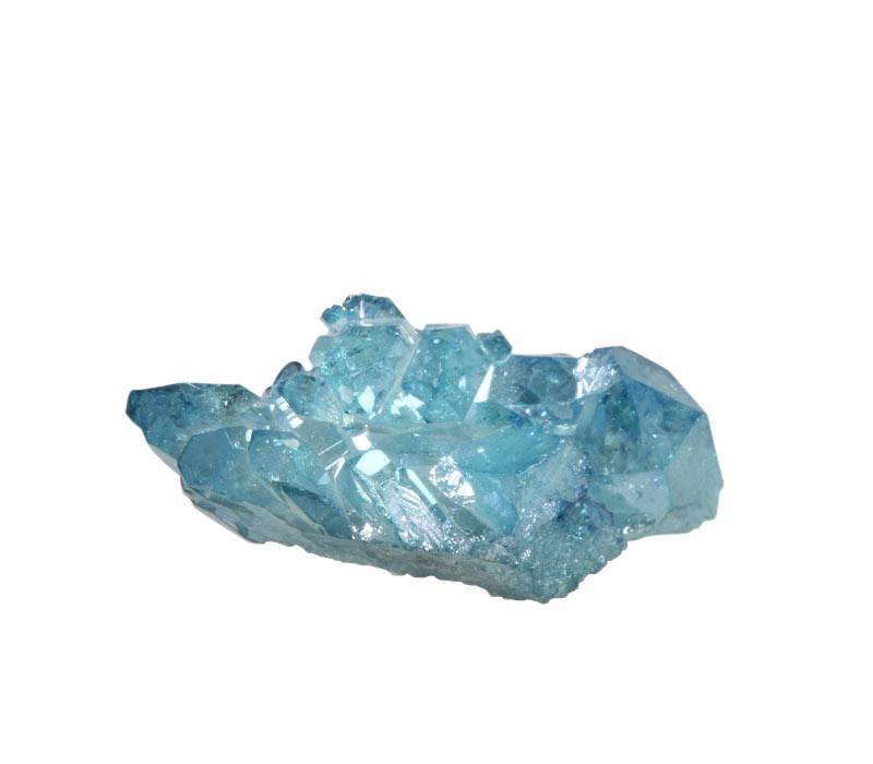 Aqua aura kwarts cluster 4,8 x 3,4 x 2,3 cm / 29,9 gram