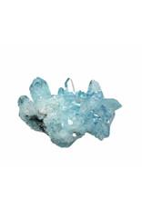 Aqua aura kwarts cluster 5 x 4 x 2,8 cm / 51,5 gram