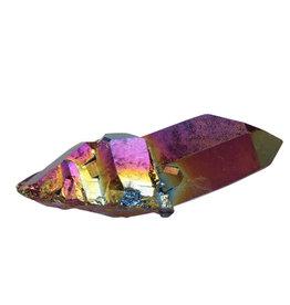 Titanium aura kwarts cluster 8 x 3,5 x 3 cm / 75 gram