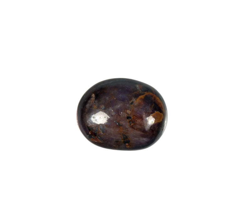Saffier (ster) steen getrommeld 2 - 5 gram