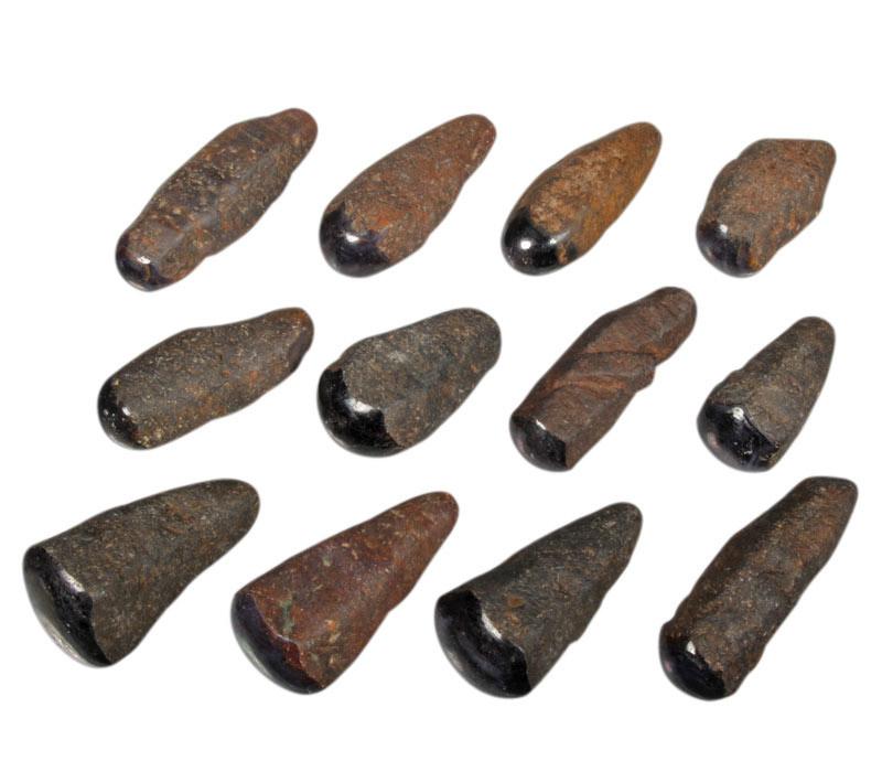 Saffier (ster) 1 zijde gepolijst 25 - 50 gram