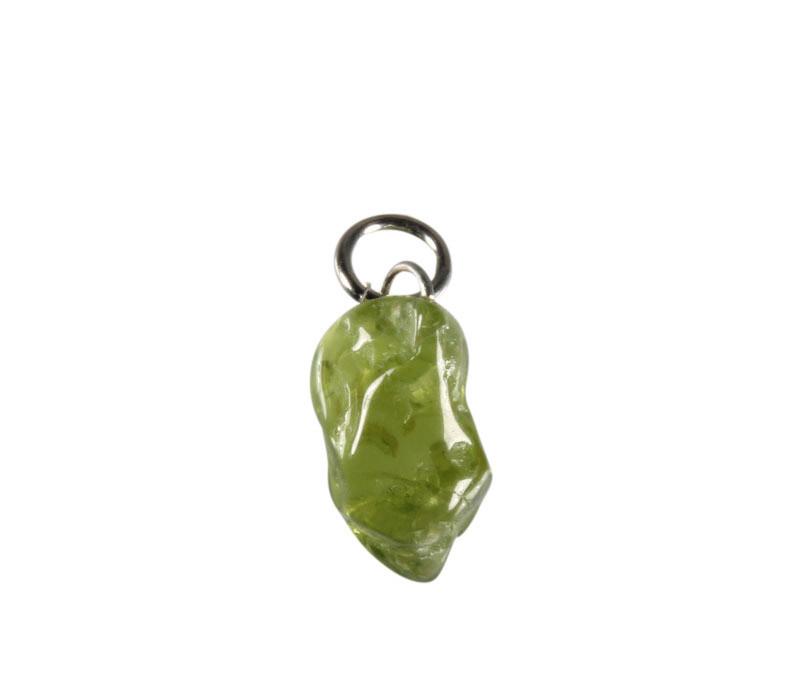 Peridoot hanger 0,5 - 1,5 gram