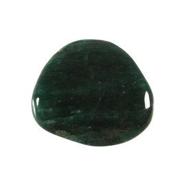 Fuchsiet steen plat gepolijst
