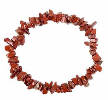 Jaspis (rood) armband split
