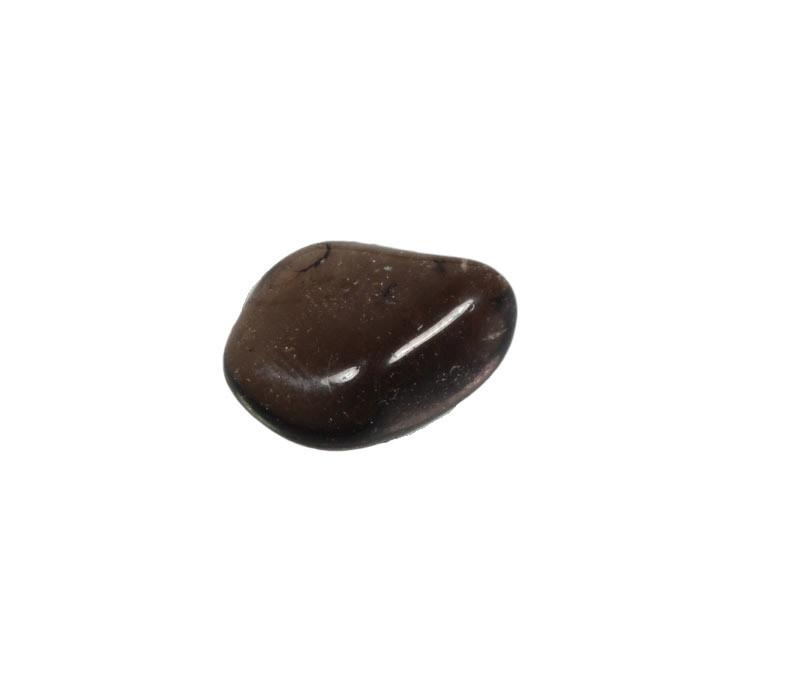 Rookkwarts (Morion) steen getrommeld 2 - 5 gram