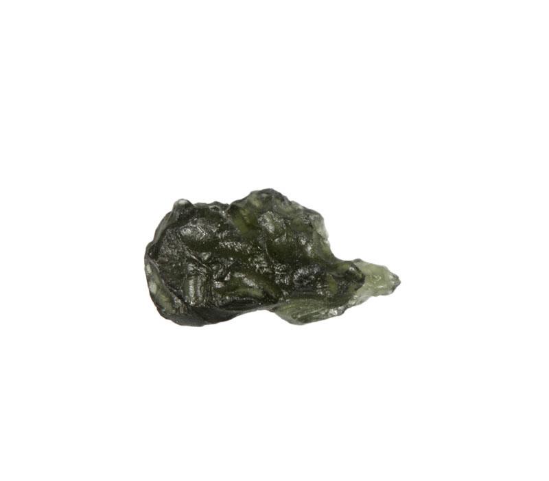 Moldaviet ruw 2,5 x 1,3 x 1,2 cm / 3,85 gram