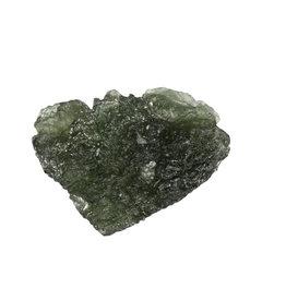 Moldaviet ruw 2,9 x 2,4 x 1,3 cm / 10,24 gram