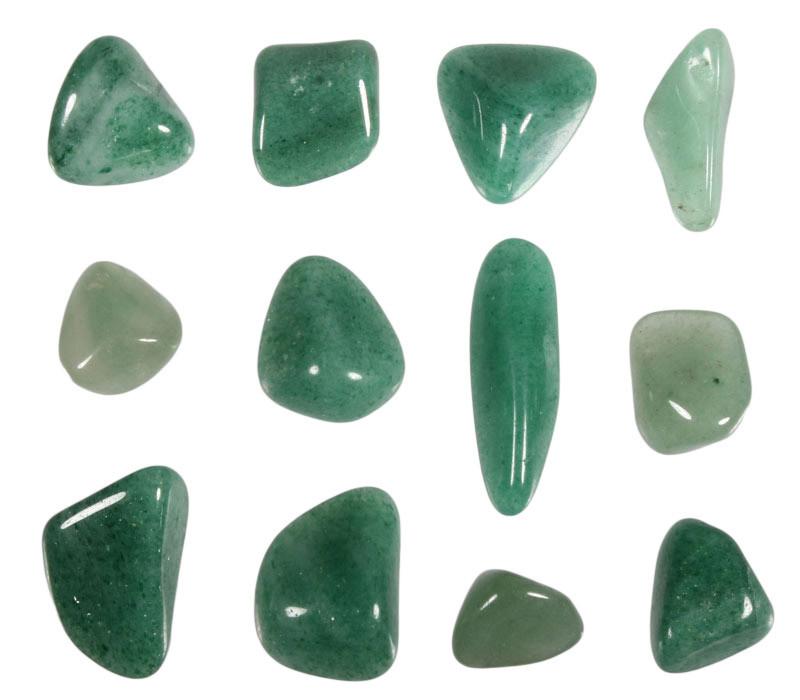 Aventurijn (groen) steen getrommeld 2 - 5 gram