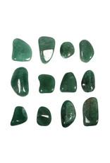 Aventurijn (groen) steen getrommeld 5 - 10 gram