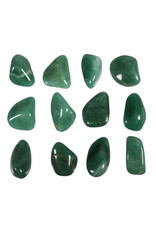 Aventurijn (groen) steen getrommeld 10 - 20 gram